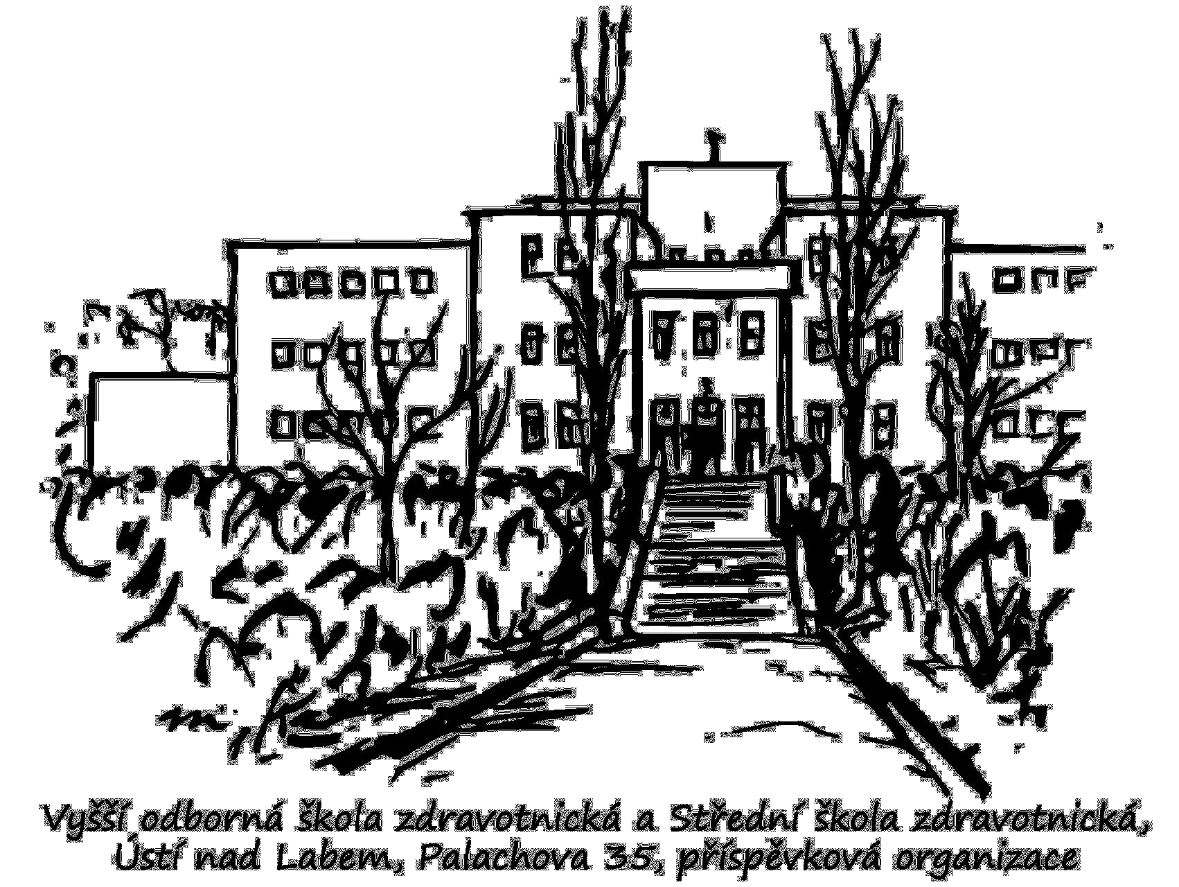 Vyšší odborná škola zdravotnická a Střední škola zdravotnická, Ústí nad Labem, Palachova 35, příspěvková organizace logo