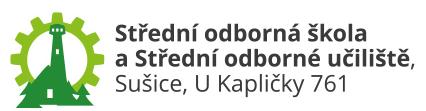 Střední odborná škola a Střední odborné učiliště, Sušice, U Kapličky 761 logo
