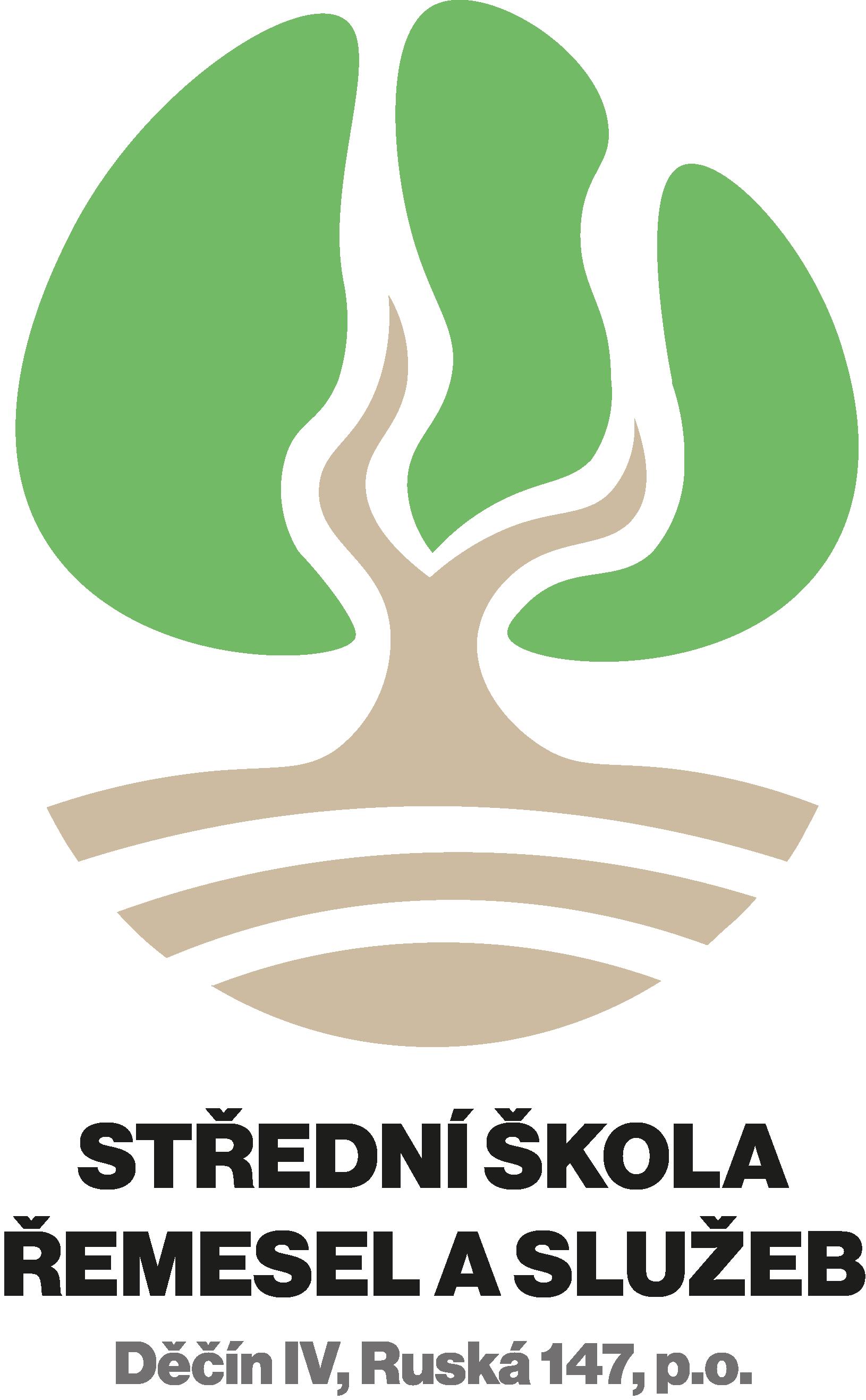 Střední škola řemesel a služeb, Děčín IV, Ruská 147, příspěvková organizace logo