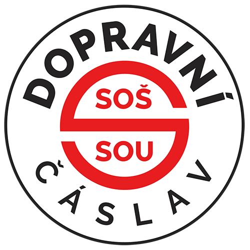 Střední odborná škola a Střední odborné učiliště dopravní Čáslav logo