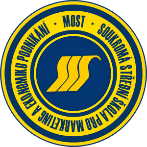 Soukromá střední škola pro marketing a ekonomiku podnikání, s. r. o., Most logo
