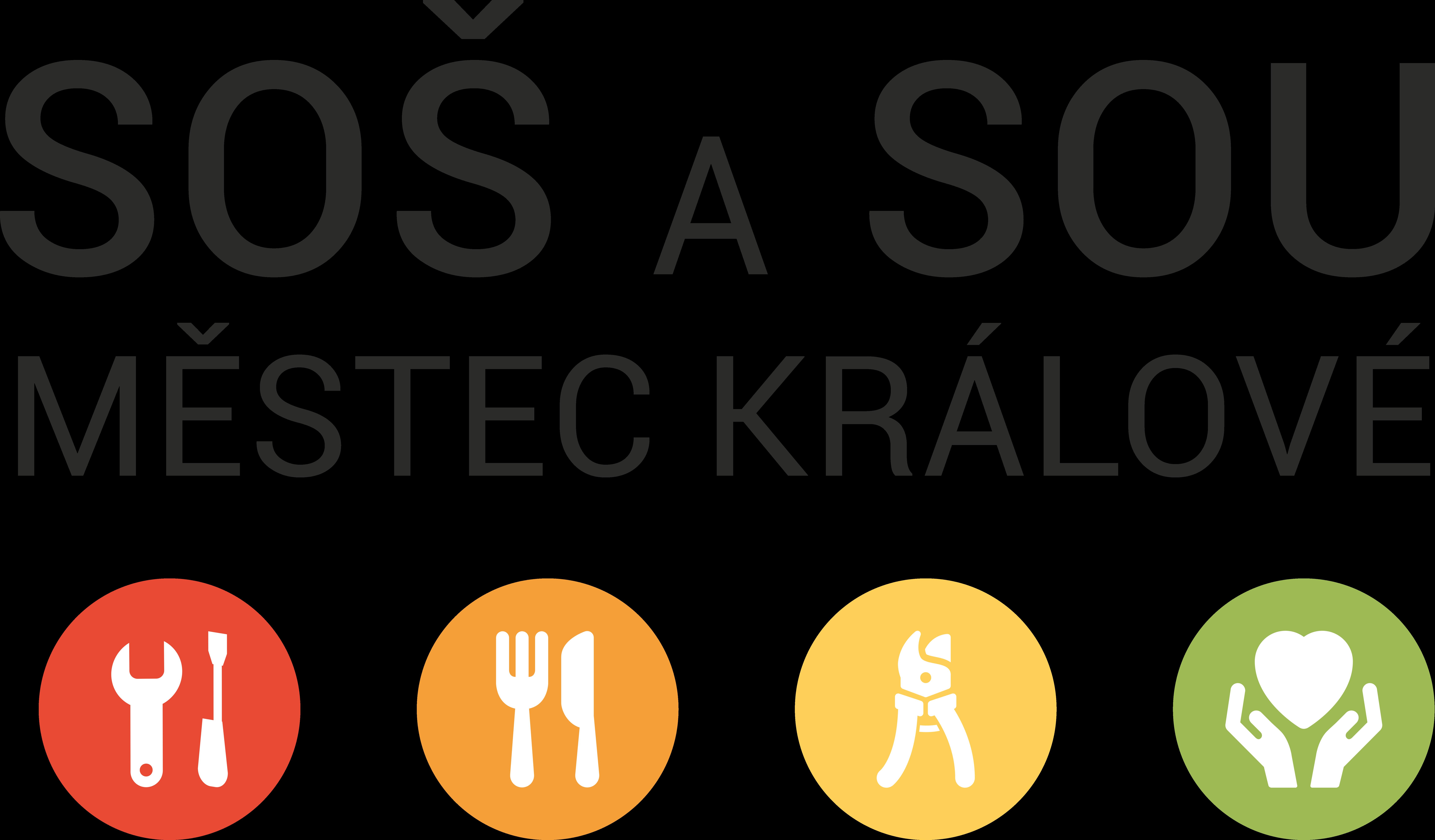Střední odborná škola a Střední odborné učiliště Městec Králové logo