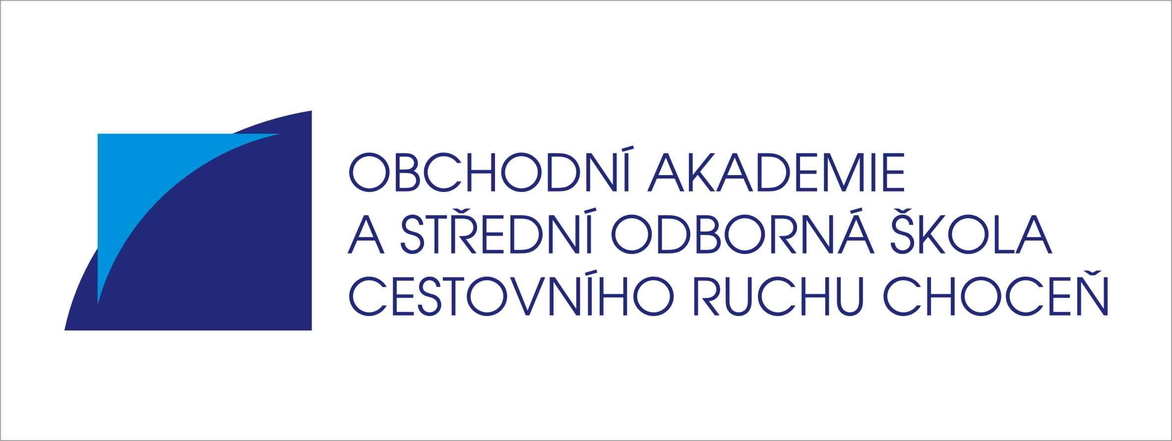 Obchodní akademie a Střední odborná škola cestovního ruchu Choceň logo