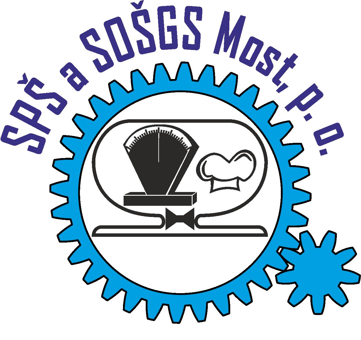 Střední průmyslová škola a Střední odborná škola gastronomie a služeb, Most, příspěvková organizace logo