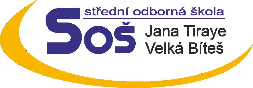 Střední odborná škola Jana Tiraye Velká Bíteš, příspěvková organizace logo