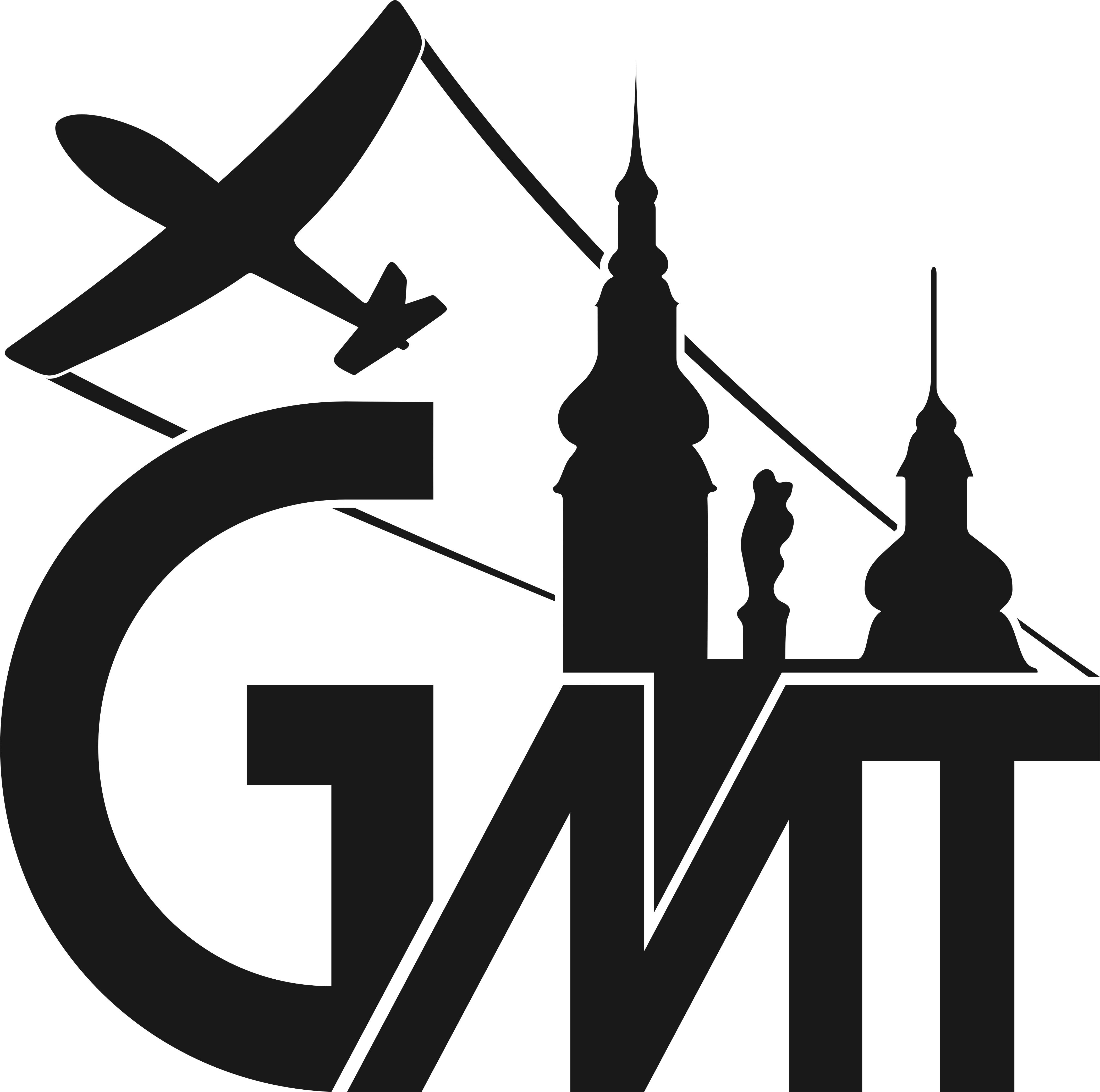 Gymnázium a Letecká střední odborná škola Moravská Třebová logo