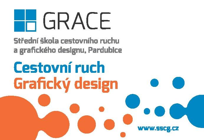 Střední škola cestovního ruchu a grafického designu, s.r.o. logo