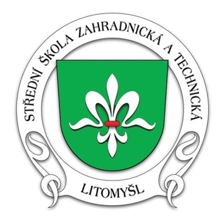Střední škola zahradnická a technická Litomyšl logo
