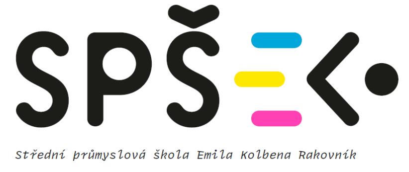 Střední průmyslová škola Emila Kolbena Rakovník, p. o. logo