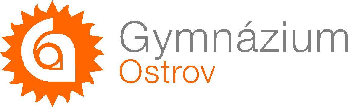 Gymnázium Ostrov, příspěvková organizace logo