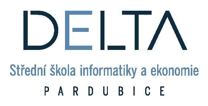 DELTA - Střední škola informatiky a ekonomie, Pardubice logo