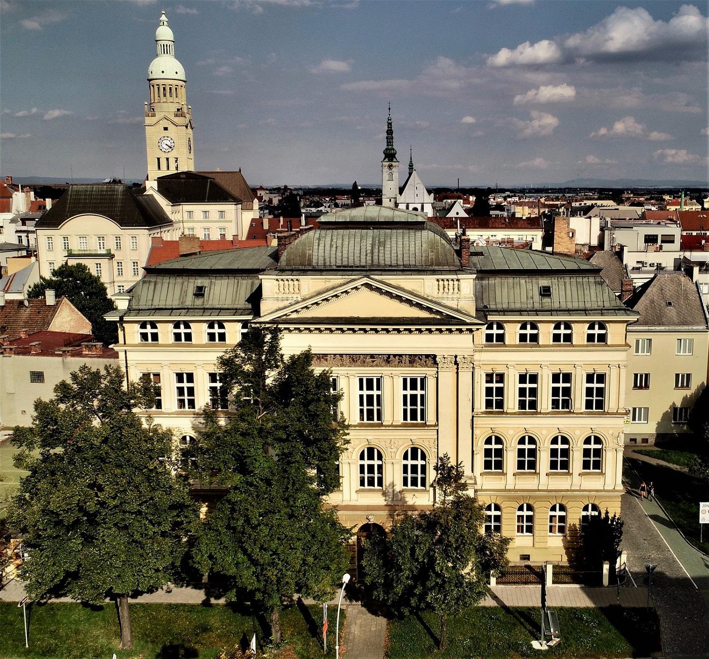 Obchodní akademie, Prostějov, Palackého 18 logo