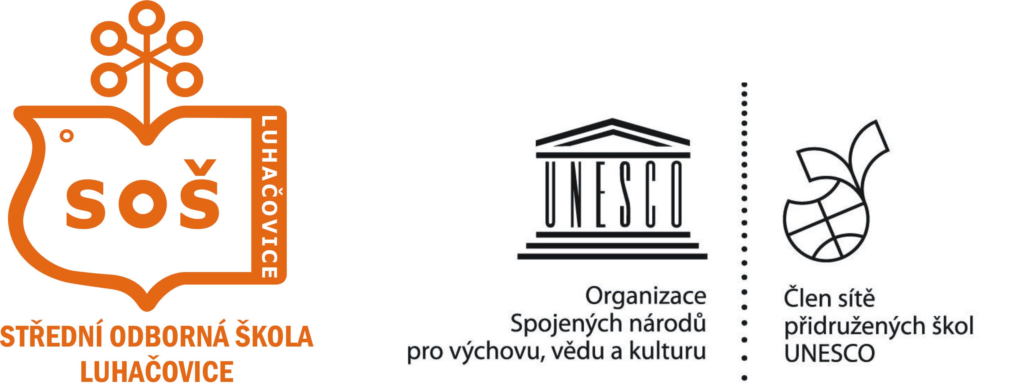 Střední odborná škola Luhačovice logo