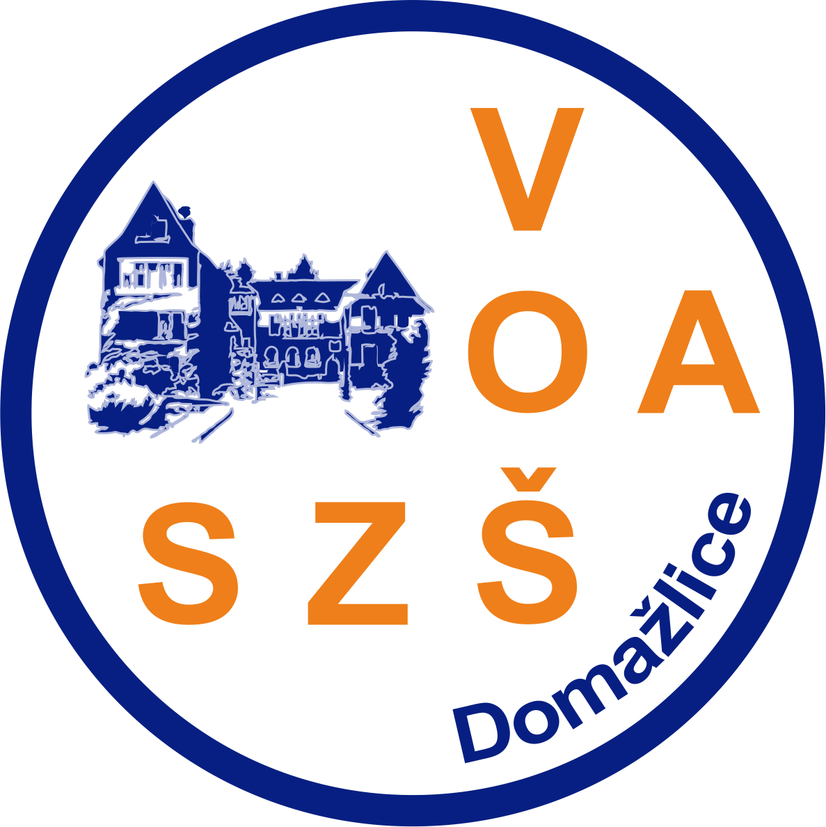 Vyšší odborná škola, Obchodní akademie a Střední zdravotnická škola Domažlice logo