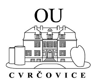 Odborné učiliště Cvrčovice, příspěvková organizace logo