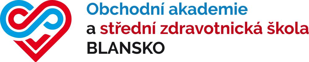 Obchodní akademie a Střední zdravotnická škola Blansko, příspěvková organizace logo
