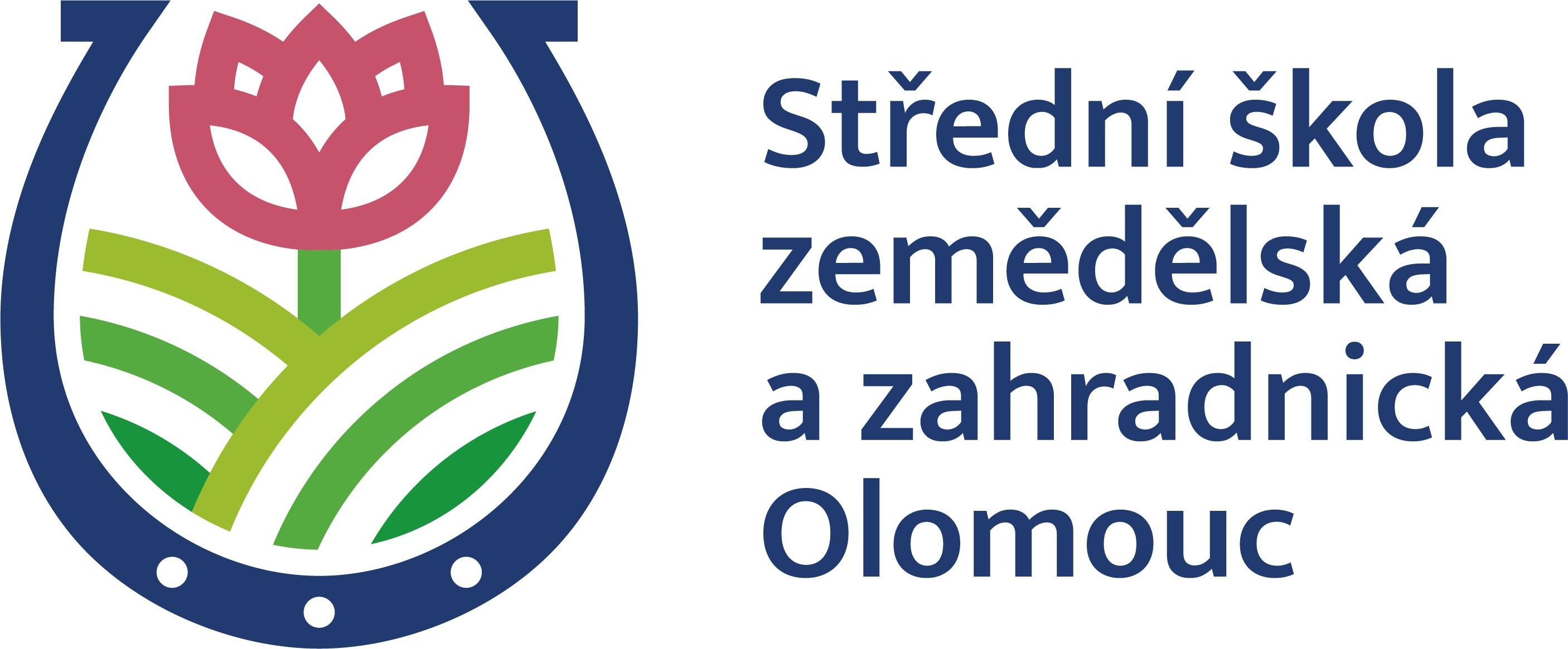 Střední škola zemědělská a zahradnická, Olomouc logo