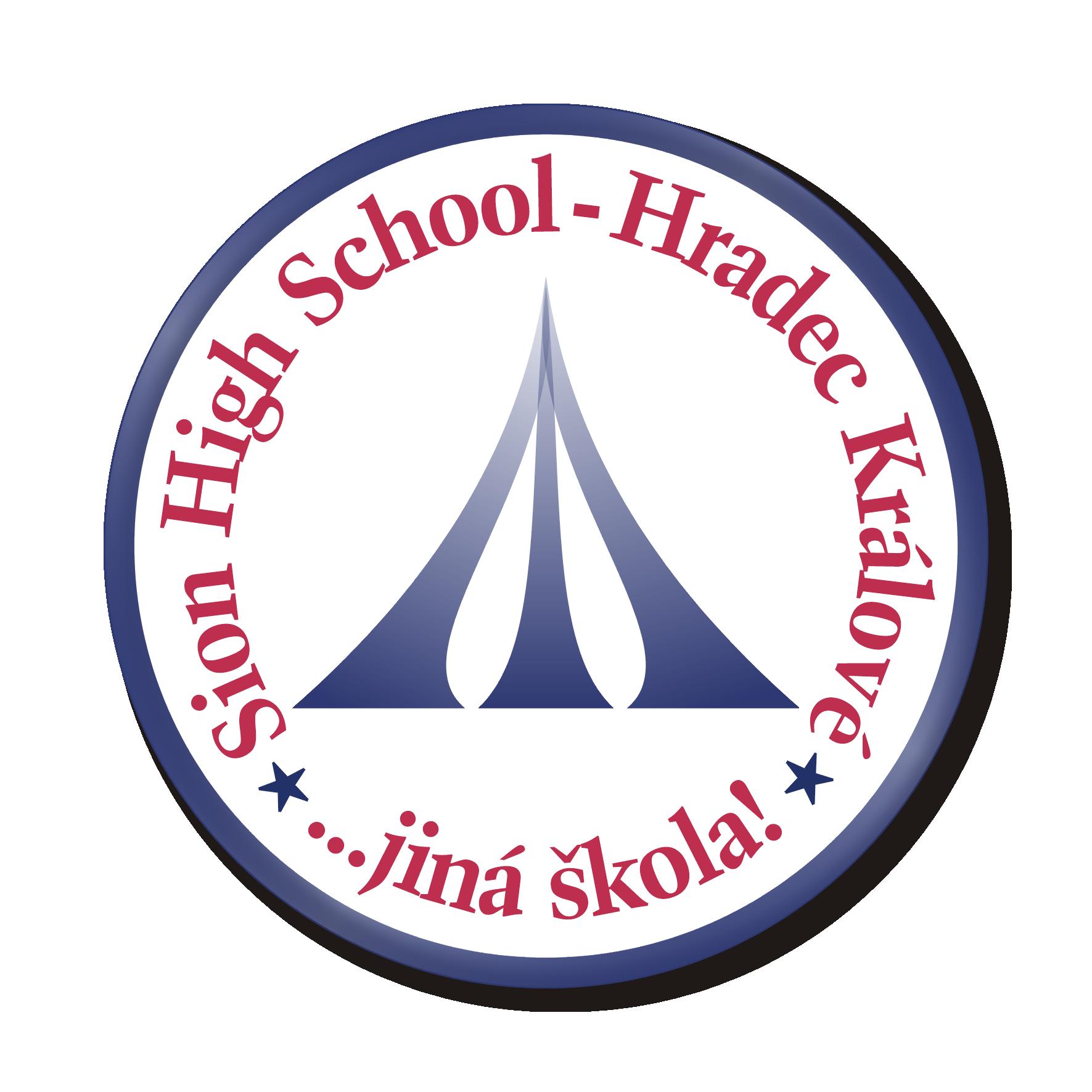 Střední škola Sion High School, Hradec Králové logo