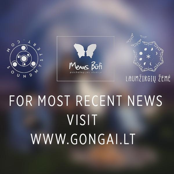 For more news visit www.gongai.lt