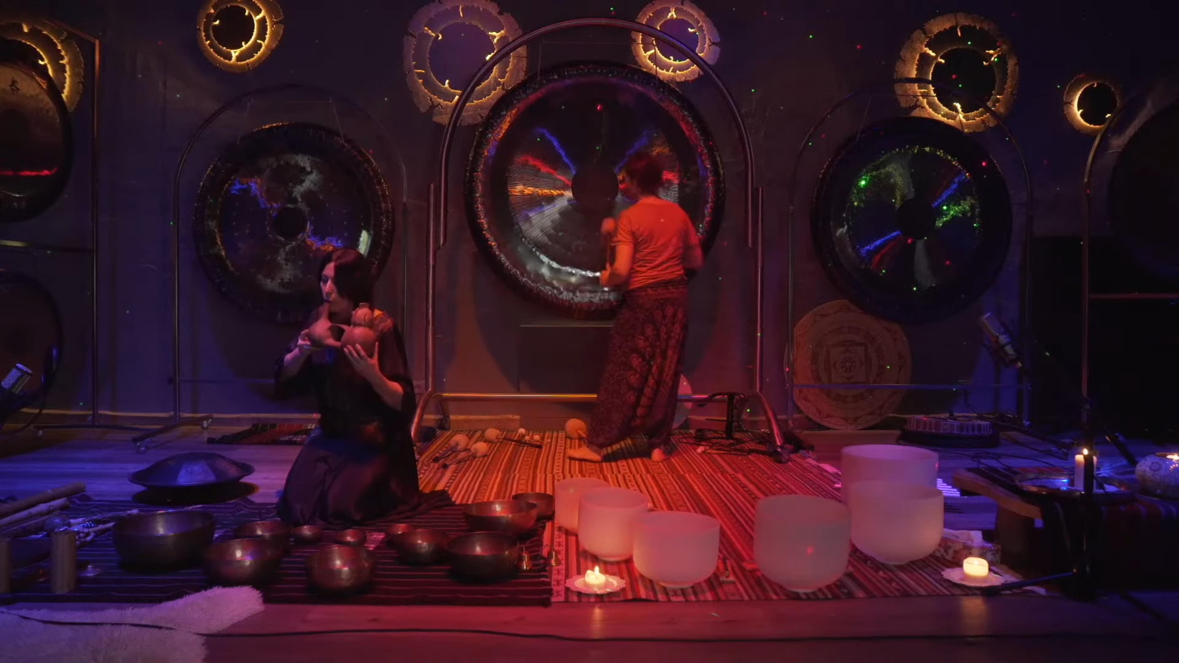 Live-Online Gong Bath Session