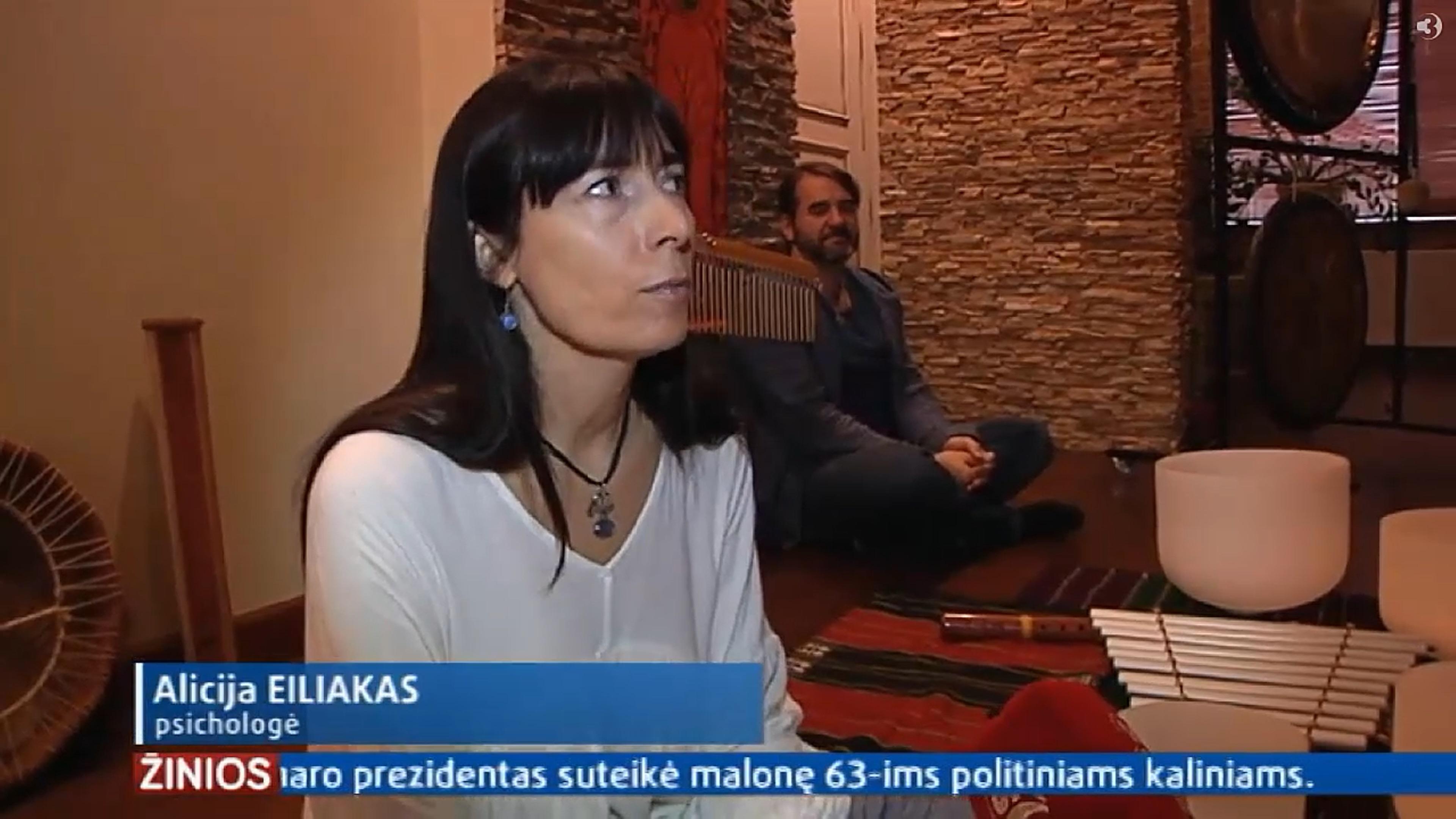 TV3 Žinios apie Garso Terapiją