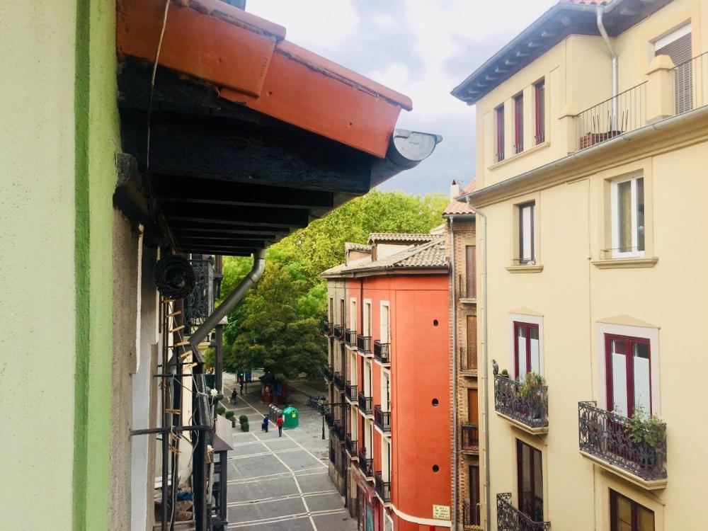pamplona casco antiguo navarra lägenhet foto 3058788