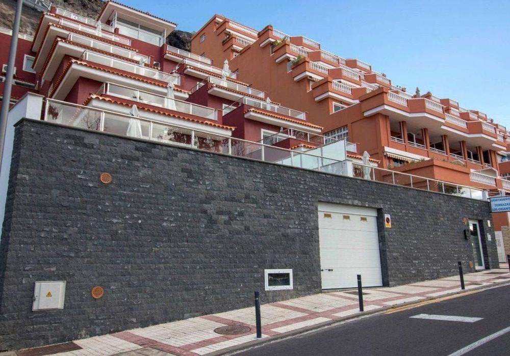 acantilados de los gigantes teneriffa Gebäude foto 3433298