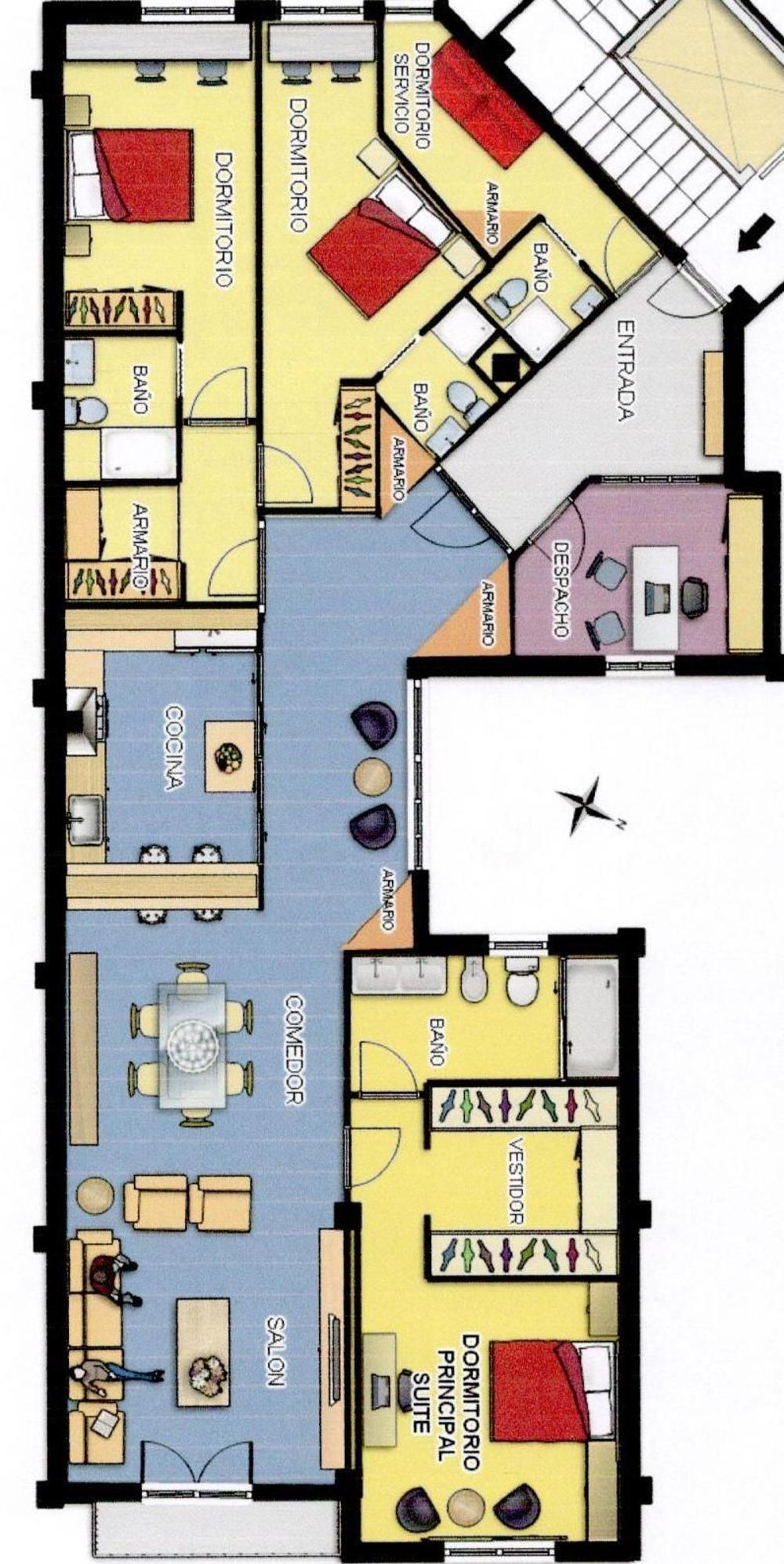l'eixample la gran via valencia  piso foto 3361305