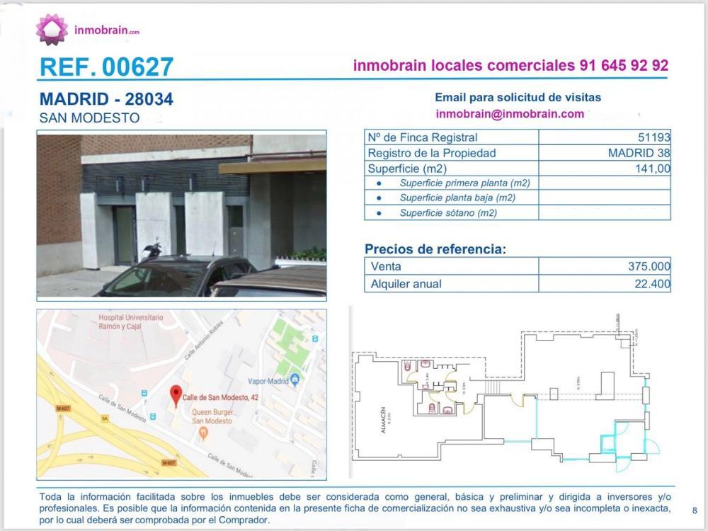 fuencarral-mirasierra madrid local foto 3534979