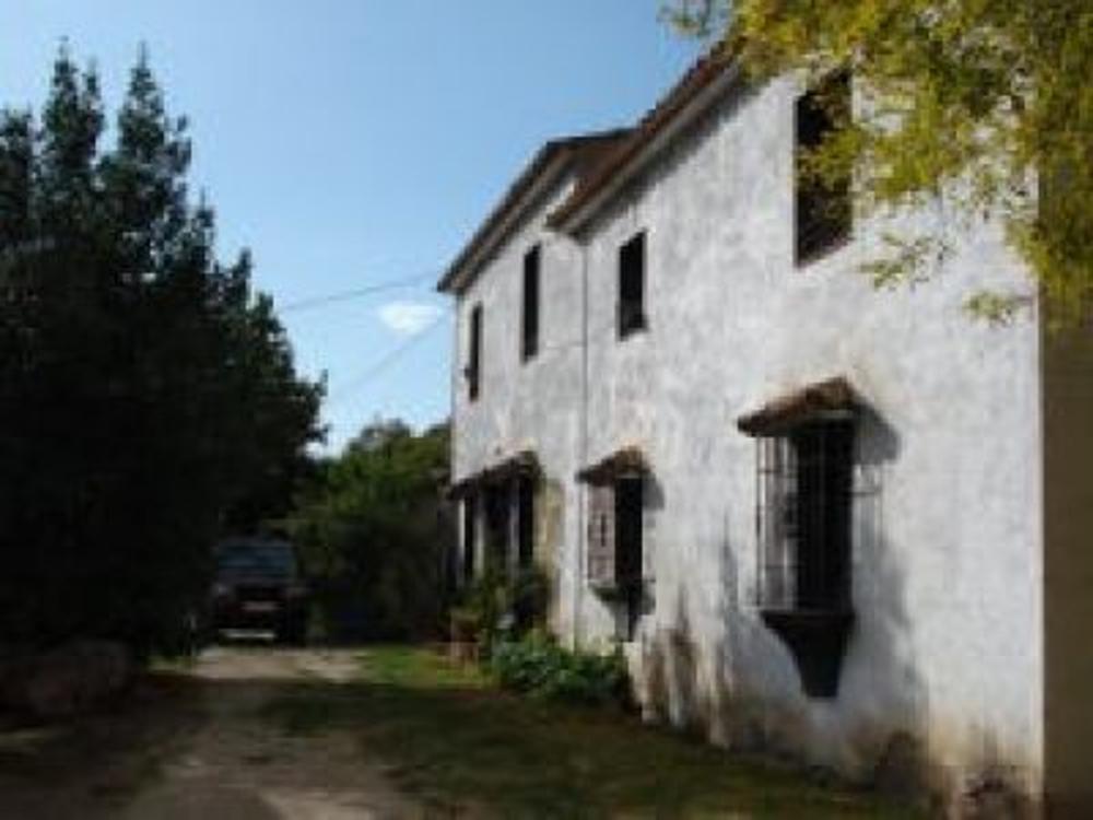 ronda málaga hus på landet foto 3612331