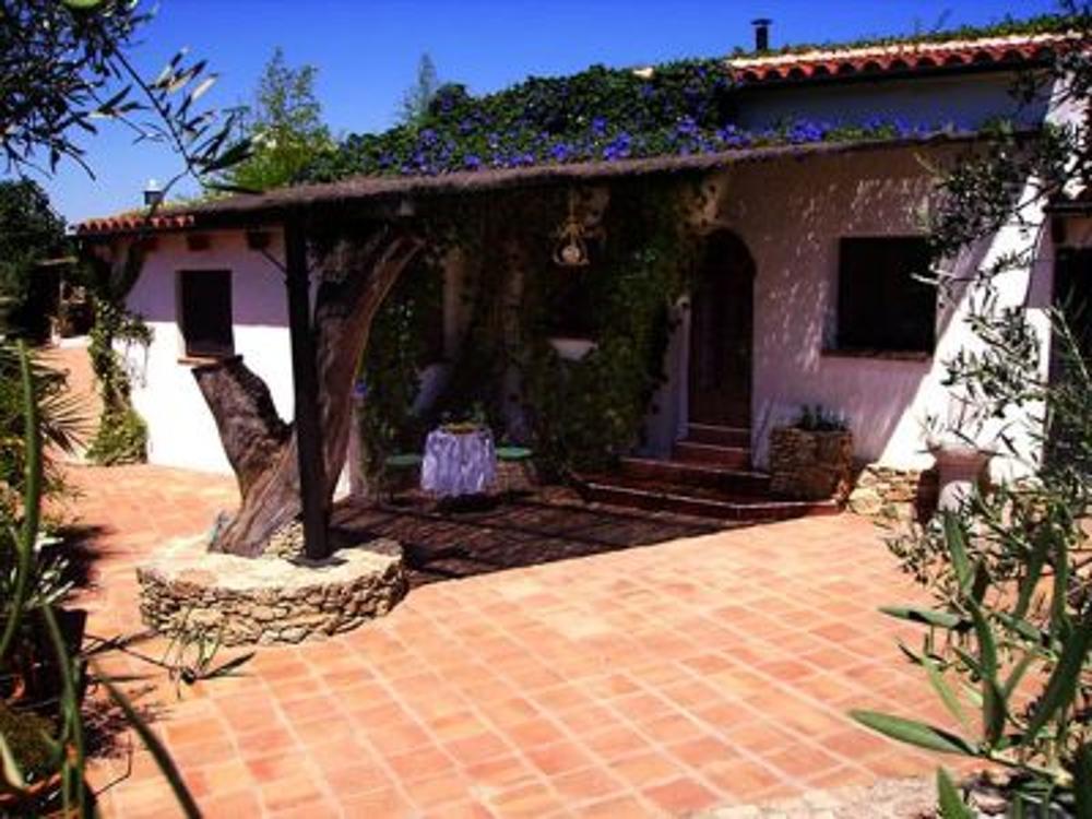 ronda málaga hus på landet foto 3612486