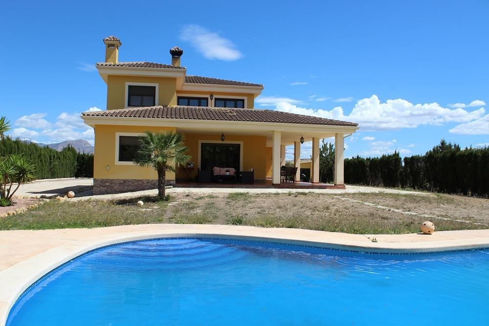 aspe alicante hus på landet foto 3676917