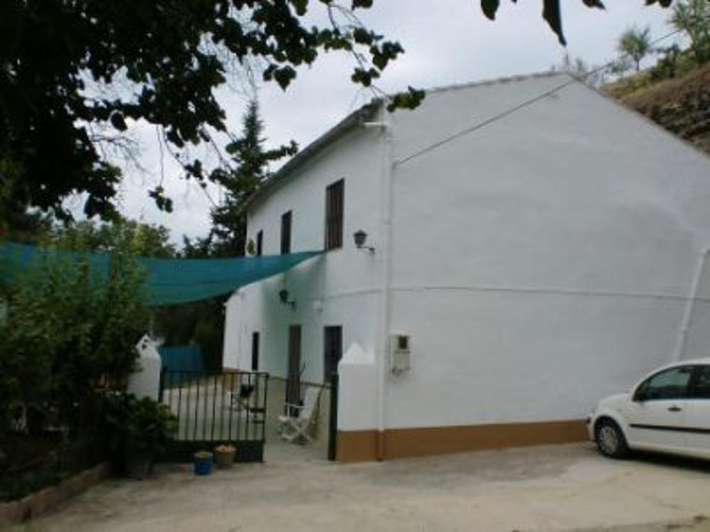 ronda málaga hus på landet foto 3652503