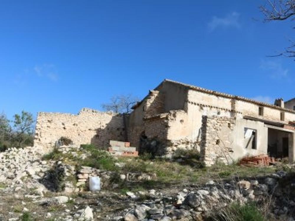 teulada alicante hus på landet foto 3676506