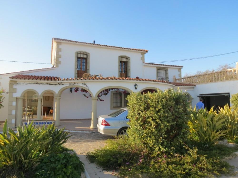 teulada alicante hus på landet foto 3656722