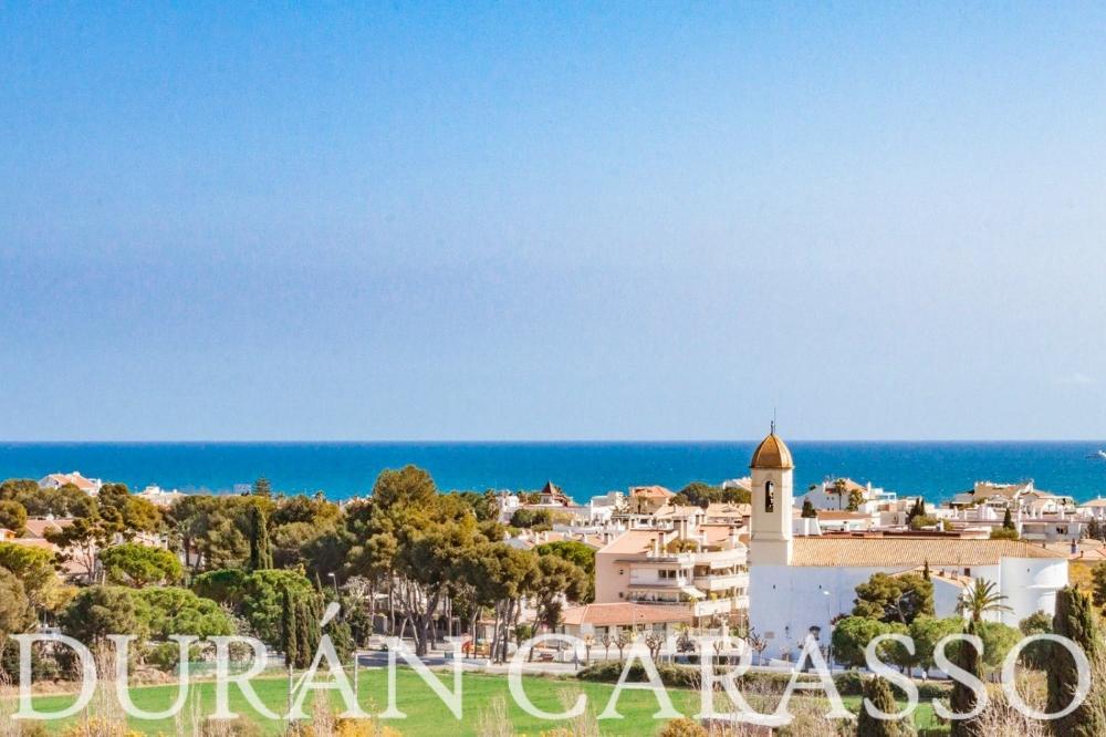 sitges barcelona takvåning foto 3671712