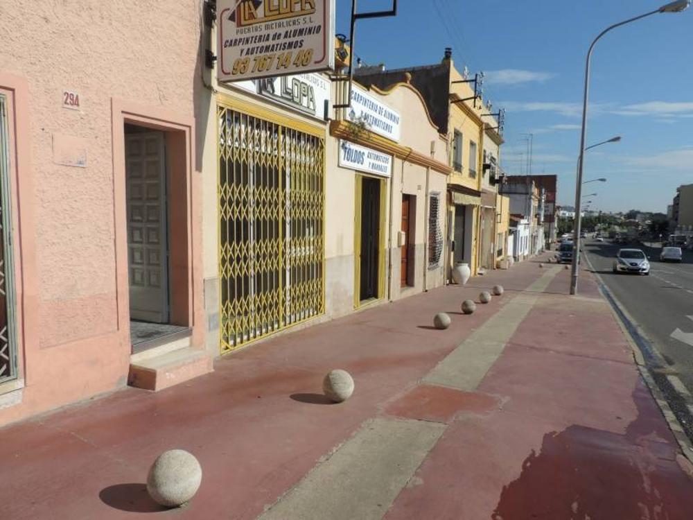 pineda de mar barcelona winkelpand foto 3648037