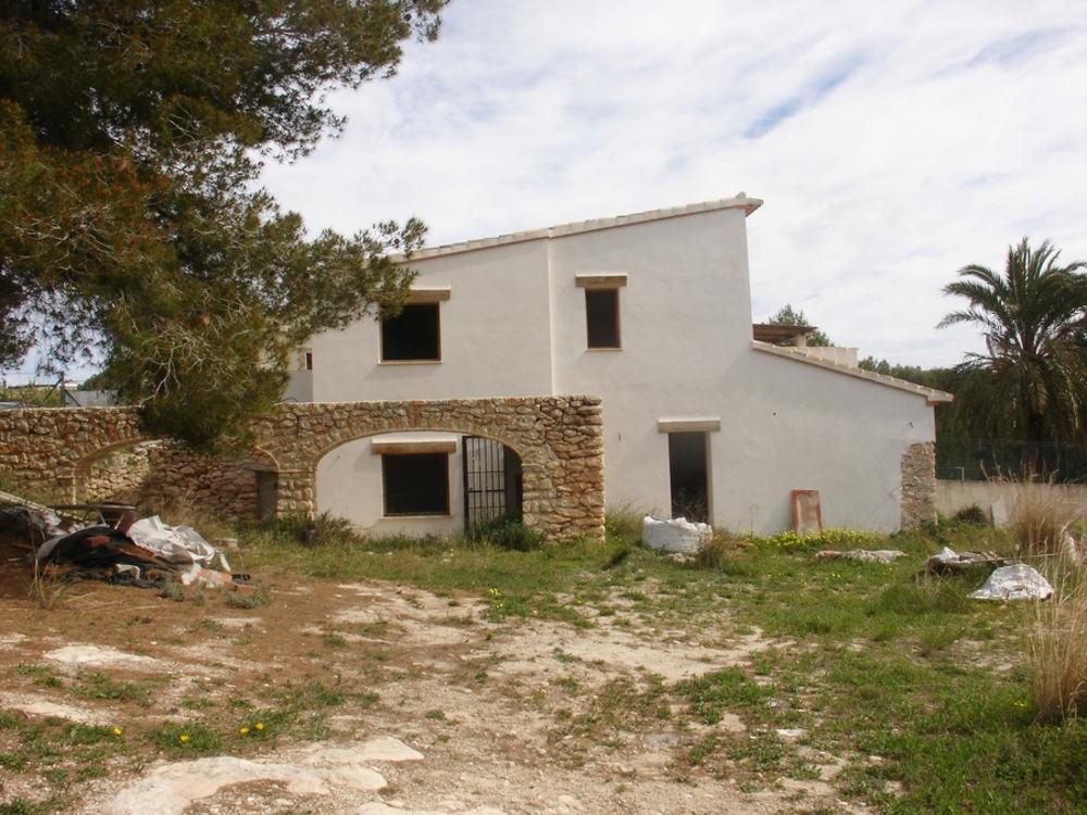 teulada alicante hus på landet foto 3664474