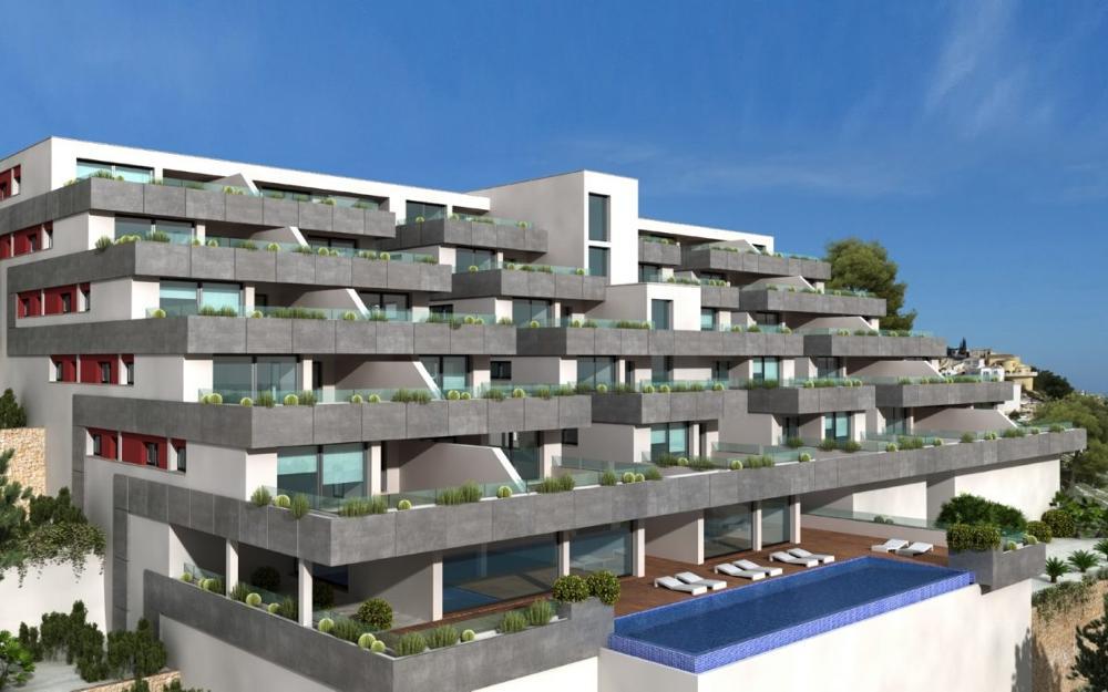 moraira alicante lägenhet foto 3662040
