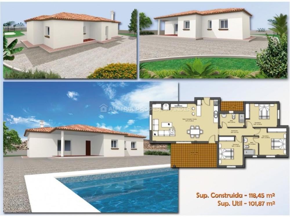 huercal-overa almería villa foto 3708570