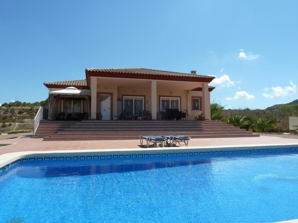 aspe alicante hus på landet foto 3726438