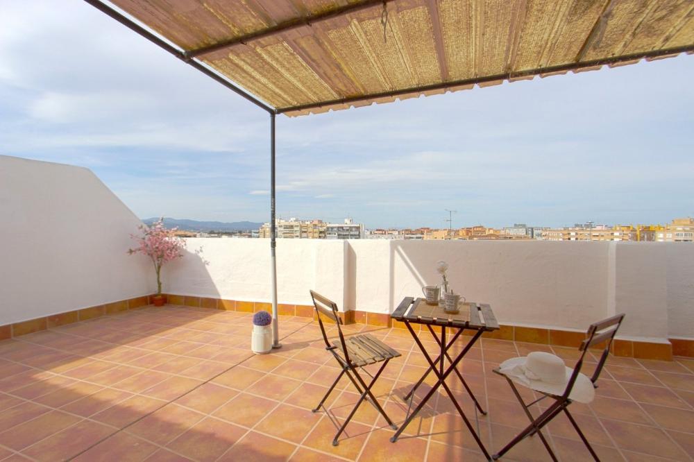 el puerto de sagunto valencia takvåning foto 3752565