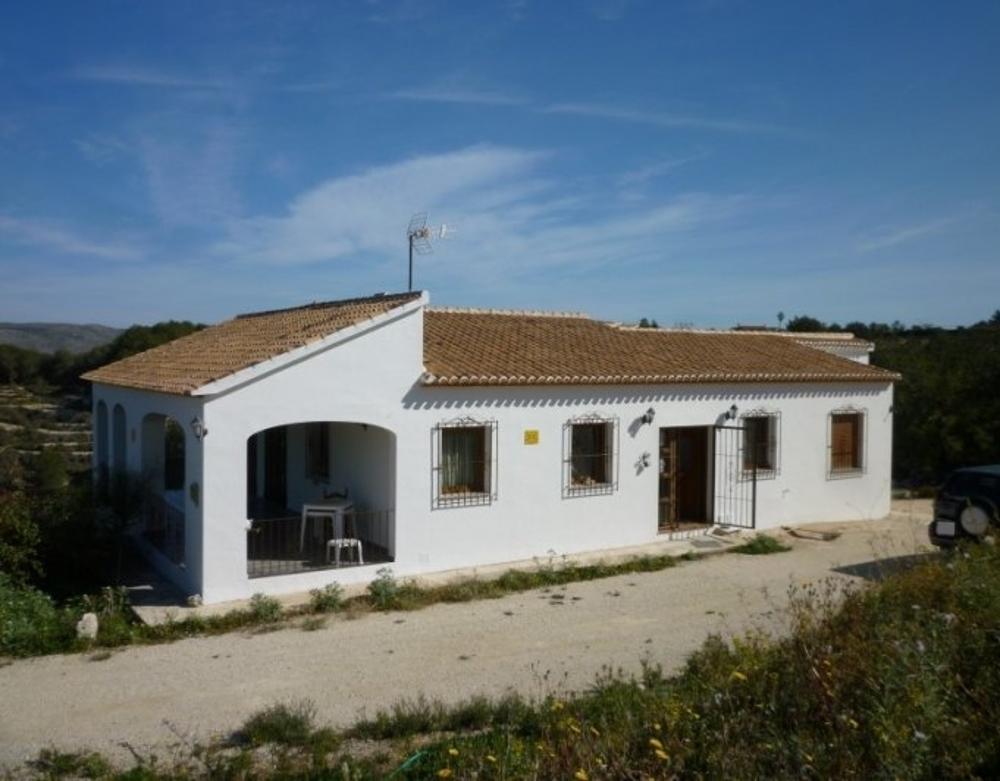 benissa alicante hus på landet foto 3753113