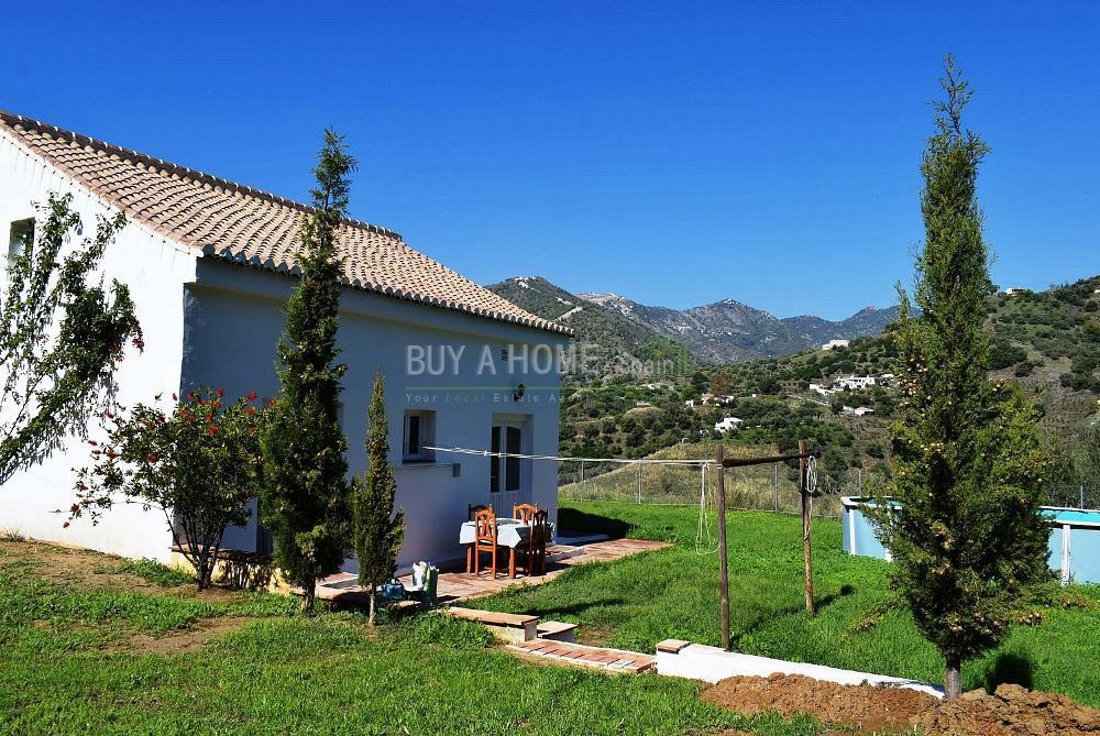 frigiliana málaga hus på landet foto 3822696