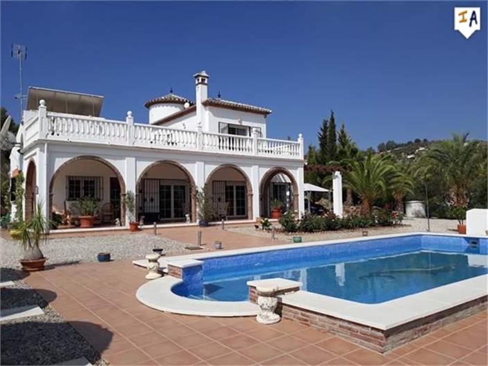 viñuela málaga villa foto 3823818
