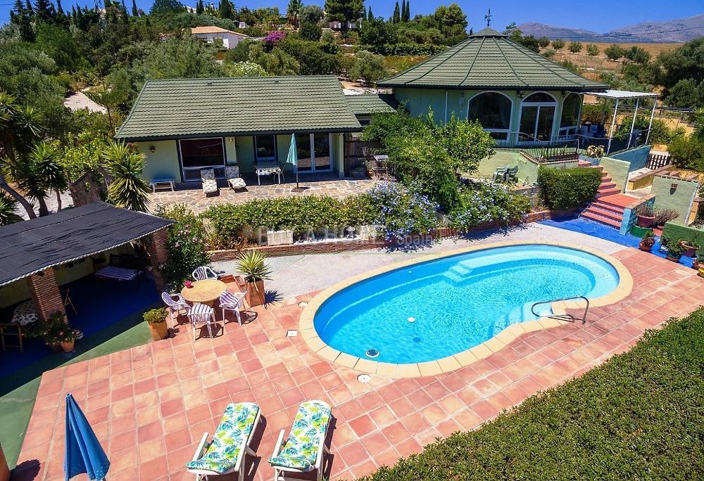 viñuela málaga villa foto 3822780