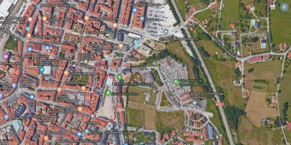 torrelavega cantabria parking foto 3845604