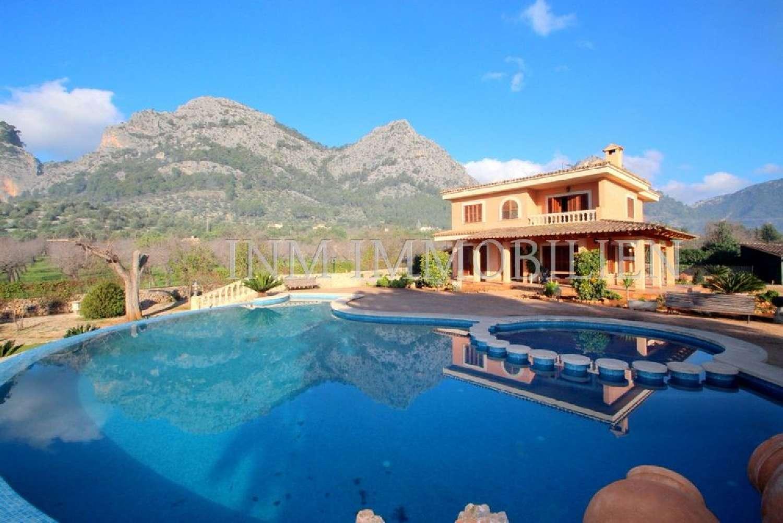 bunyola mallorca hus på landet foto 4199585