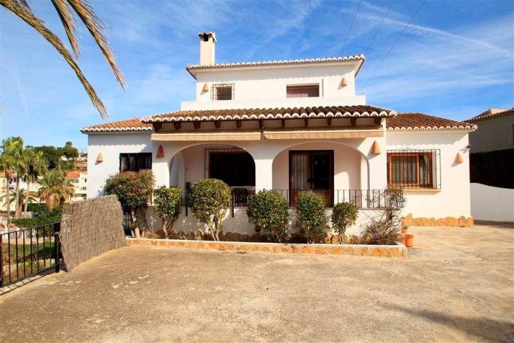 moraira alicante villa foto 3865286