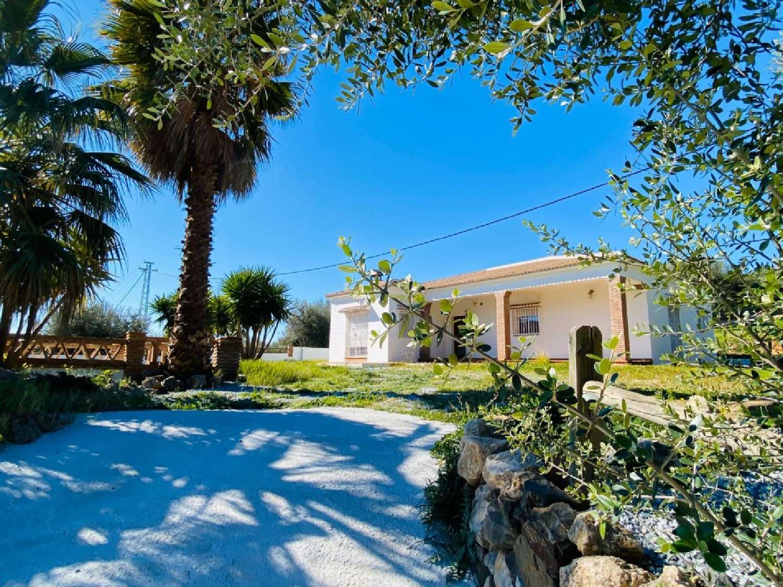 alcaucín málaga hus på landet foto 3877363